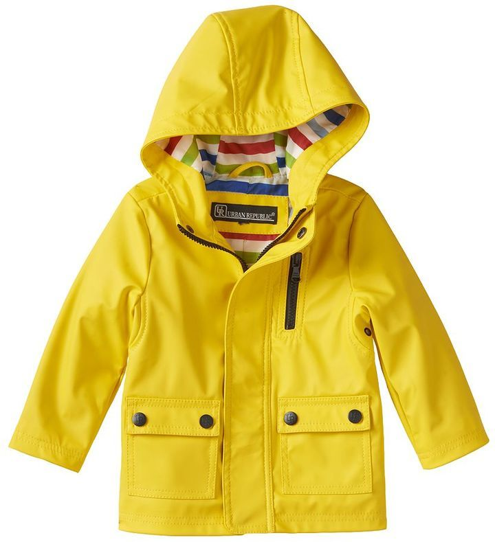 This toddler's rain jacket makes the best fit for your little tot, and the lightness of it makes it easy for your child to move around without a problem. Since the inner lining is made with polyester fabric, this raincoat is pretty breathable.