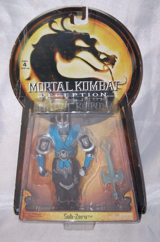 Mortal Kombat Deception Sub Zero Action Figure 2005 Jazwares Unopened #Jazwares
