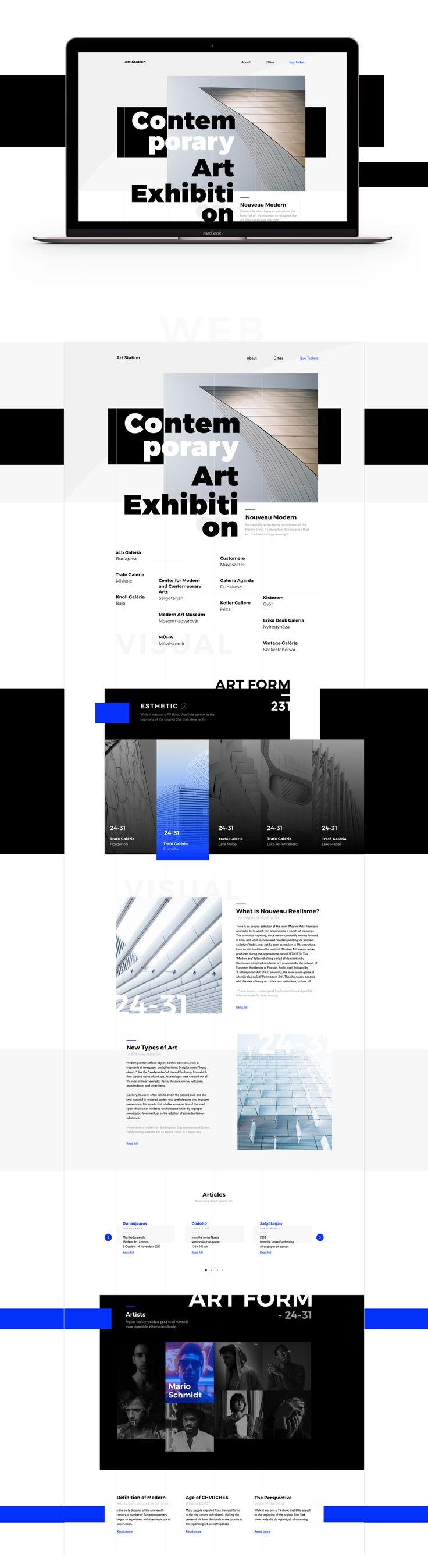 Website for Art Exhibition in Hungary  Full project on Behance: https://vk.com/away.php?utf=1&to=https%3A%2F%2Fwww.behance.net%2Fvov9166593