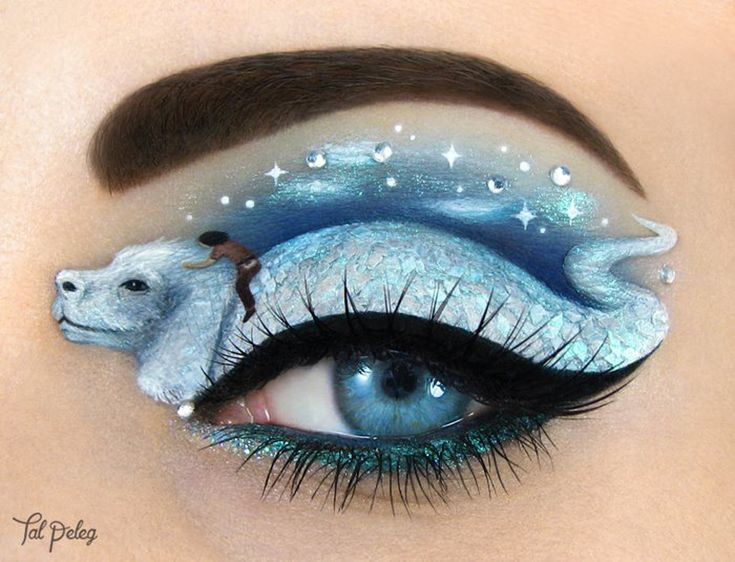 Truly Fantastic Eye Makeup Art You Have To See To Believe!