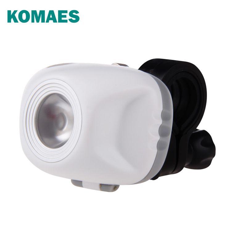 Komaes - świetne reflektorki rowerowe.