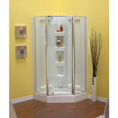 Stand Up Shower Corner Shower Pinterest Neo Angle Shower Stand Up Show