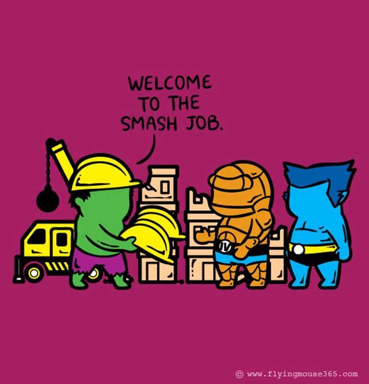 Optimismo que nos une    http://www.upsocl.com/cultura-y-entretencion/37-superheroes-que-deben-ganarse-la-vida-con-todo-tipo-de-empleos-de-medio-tiempo/