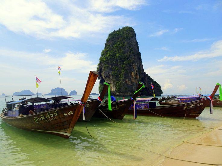 Autour d'Ao Nang, ne manquez pas les plages de Krabi et les fameux paysages karstiques de Thailande ! Infos, photos et conseils...