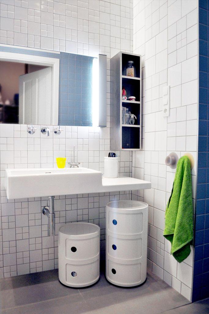 stylish bathroom; Henry Wielgus - Prague apartment