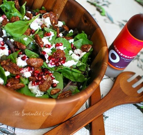 , Maple-Glazed Pecan and Feta Salad | Food | Pinterest | Feta Salad ...