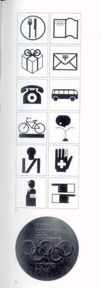 olympics icons by Ikko Tanaka pinned by Awake — http://designedbyawake.com #poster #graphic #design #icons #olympics #japan#branding #typography
