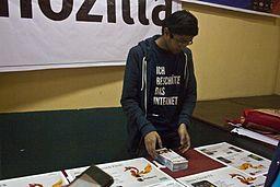 BNWIKI10-Mozilla Kiosk-Wikipedia 10th Anniversary Celebration