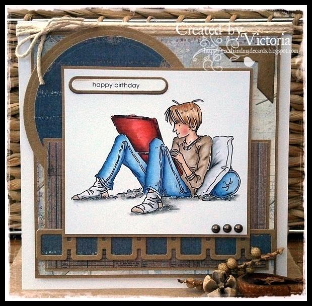 Vixx Handmade Cards: Mo Manning