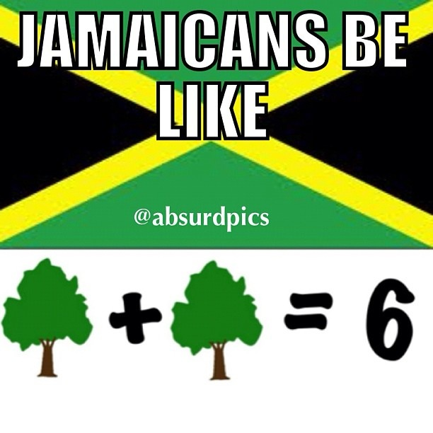 you have to read it in a Jamaican accent :)