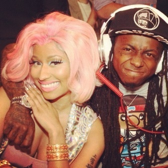 TWO OF MY FAAAVVVOORRITE RAPPERS, MISS NICKI MINAJ AND LIL WAYNE!