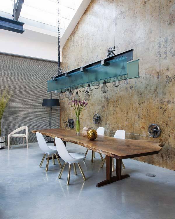 die 121 besten bilder zu eetkamer auf pinterest   stühle, rustikal ... - Wohnung Mit Minimalistischem Weisem Interieur Design New York