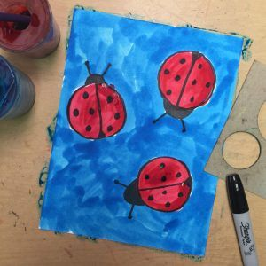 Draw a Ladybug - Art Projects for Kids