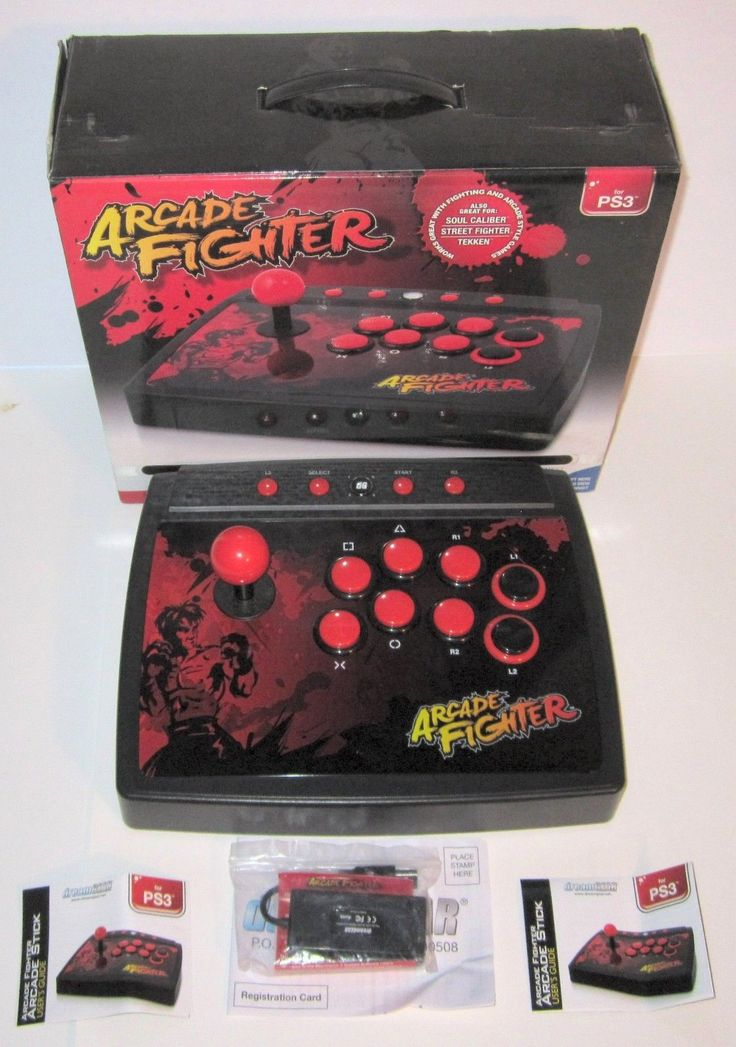 Arcade Fighter DreamGear PS3 Arcade Style Joystick Street Fighter Soul Caliber: $49.99 End Date: Wednesday Apr-11-2018 10:59:32 PDT Buy It…