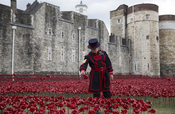 For WWI Anniversary, the Tower of London Has Become Surrounded by a Sea of Poppies | Travel | Smithsonian