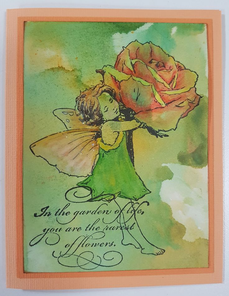 Rose 144147 by Crafter's Companion; Garden of Life 4263F by Penny Black. Card by Susan of Art Attic Studio