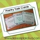 Differentiated Poetry  Task  Cards FREE