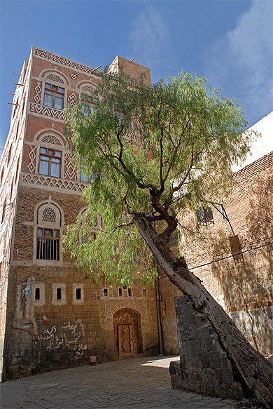 Cour paisible - Yémen