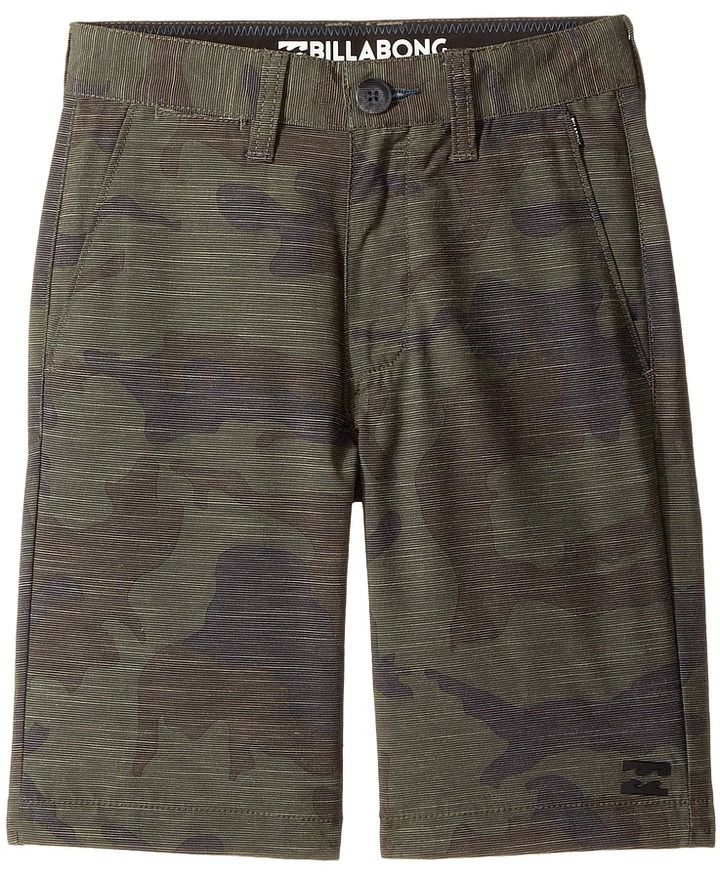 Billabong Kids - Crossfire X Camo Shorts Boy's Shorts