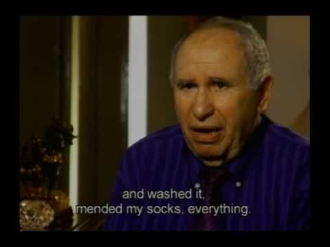 Holocaust Survivor Testimony: Solomon  	Feigerson, Latvia. Child Holocaust survivor describes escape from mass execution