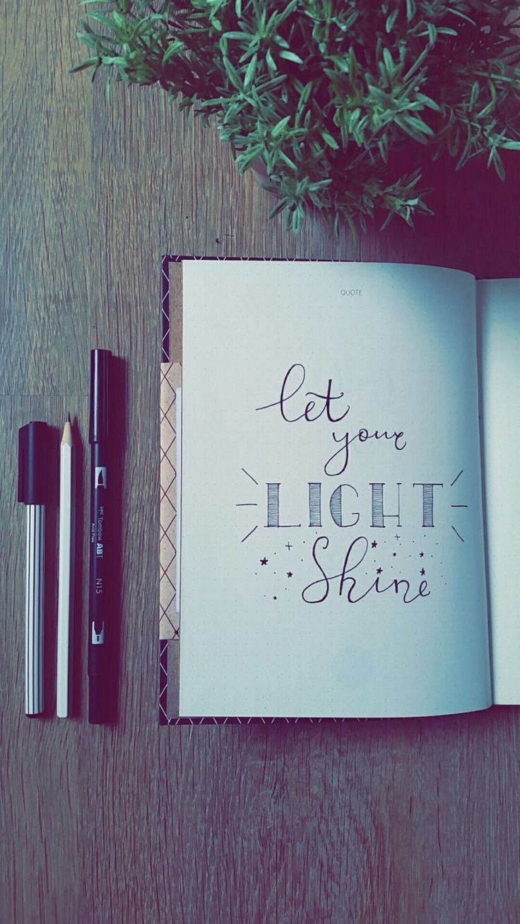 70 Inspirational Calligraphy Quotes for Your Bullet Journal – #Bullet #Calligrap… – Sean