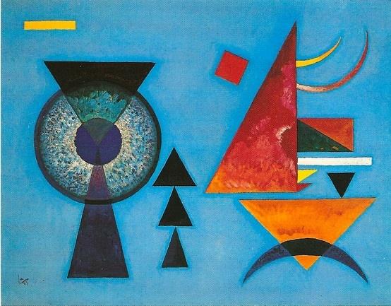 kandinsky | Blue | Pinterest | Kandinsky, Wassily ...