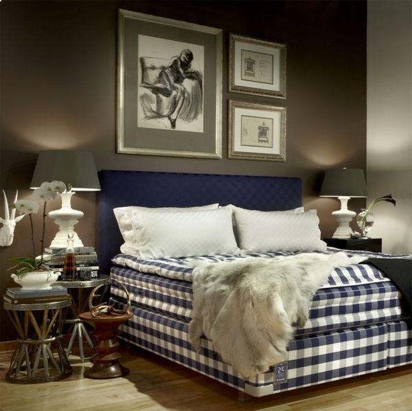 Die besten 25+ Männliches schlafzimmer Ideen auf Pinterest - ideen schlafzimmer einrichtung stil chalet