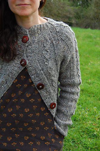 Ravelry: Onwards and upwards cardigan pattern by Elizabeth Felgate