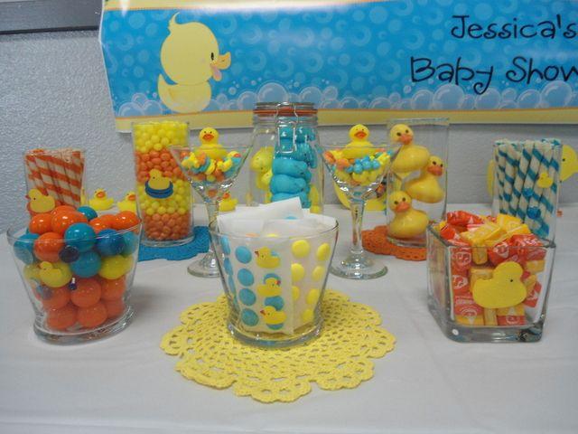 Cute cute cute baby shower idea!!!  ~~~~~Baby Shower #babyshower #rubberducky