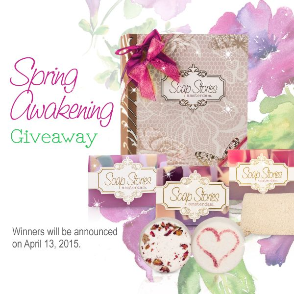 Spring has finally sprung and we will be launching a giveaway to celebrate the new season! Check our Facebook page tomorrow for more details;)  #soapstories #springawakening #giveaway #contest #prizes