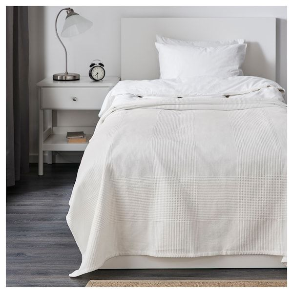 INDIRA Päiväpeitto, valkoinen, 150x250 cm IKEA   Colcha