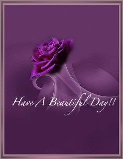 Have a beautiful purple day!
