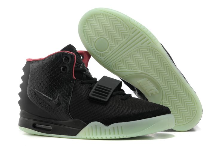 Nike air yeezy 2 Black Pink Womens athletic basketball shoes Brand: Nike Shoes Type: air yeezy 2 Color: Black Pink Gender: Womens Purposes: athletic basketball shoes Size: 36-39