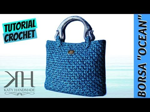 "Tutorial borsa uncinetto ""Esmeralda"" 