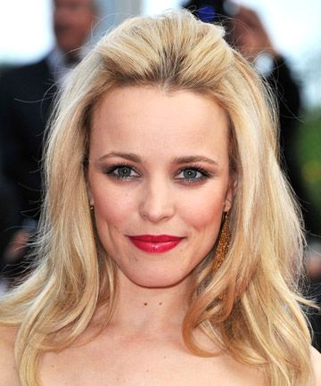 The Main Sweep Rachel McAdams shows us it's not impossible to pin back your bangs and keep some volume in your 'do. Spray bangs with a dry shampoo (we like the new weatherproof versions, like ColorProof HumidityRX Anti-Frizz Weatherproof Spray), before teasing lightly with a comb, then pinning back.