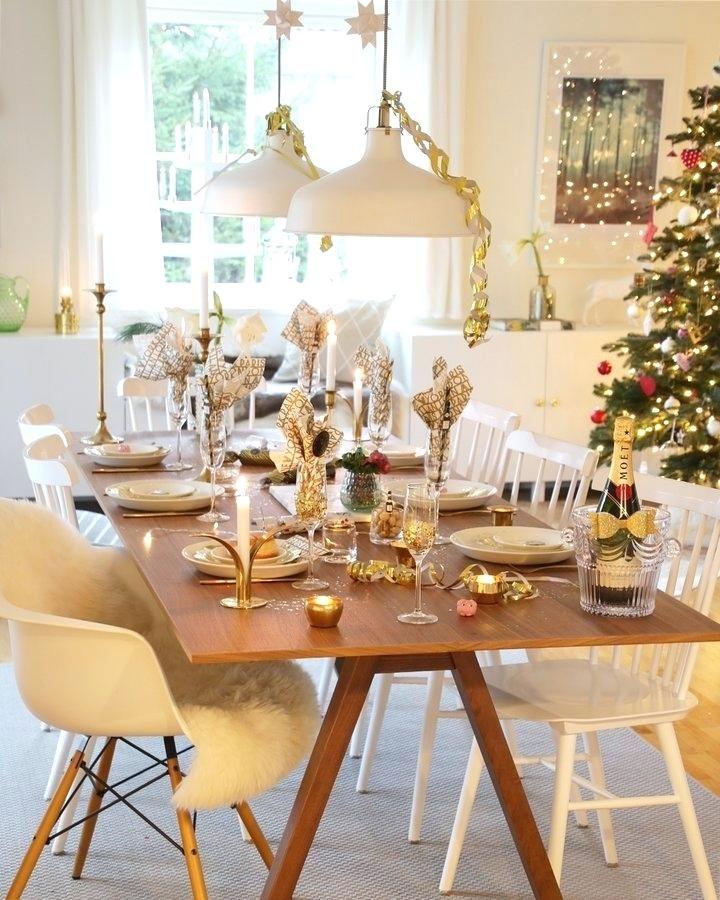 Tischdeko Fur Neujahrsempfang Die Schonsten Silvester Deko Ideen