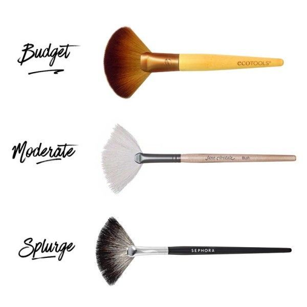 The Best Fan Makeup Brushes At Every Budget Best Makeup Brushes Best Makeup Products Fan Brush Makeup
