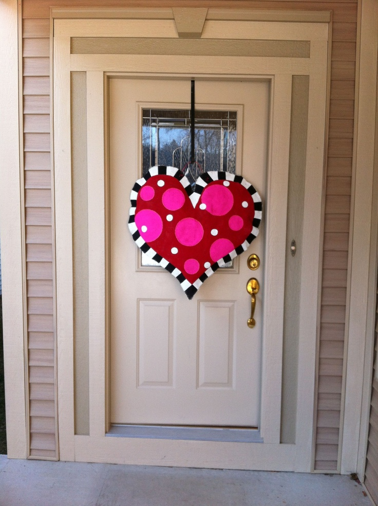 190 Best Wood Door Hangers Images On Pinterest Christmas