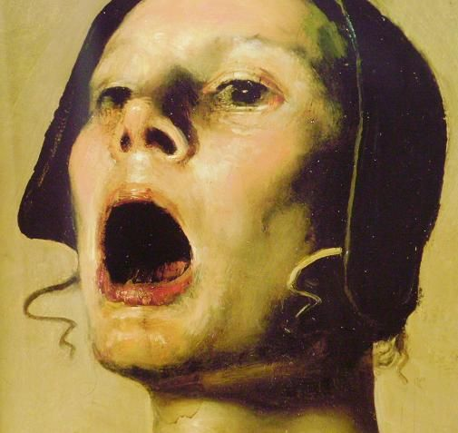 Cave to Canvas, brazenswing: Odd Nerdrum: The Singers (detail),...