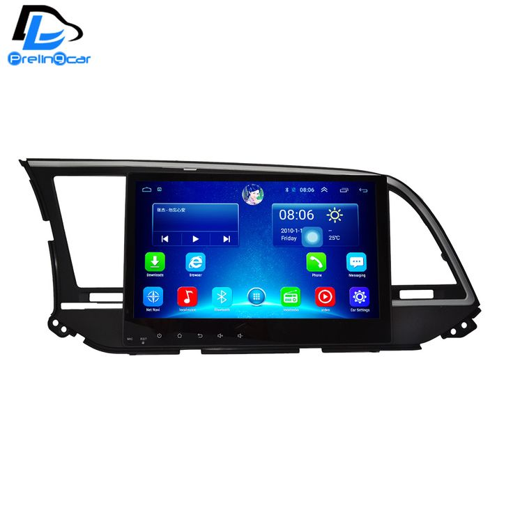 32G ROM android 6.0 car gps multimedia video radio player  in dash for HYUNDAI NEW ELANTRA navigation stereo #Affiliate