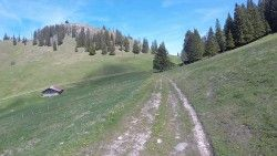 [Haute-Savoie] Vacheresse - Mont Baron Boucle au départ de Leschaux (commune de Vacheresse) avec une ascension par les Queffaix, un petit poussage jusqu'aux Grandes Heures. On rejoint ensuite le col Des Boeufs. De là, on a le choix entre redescendre sur Leschaux ou effectuer l'ascension jusqu'au sommet du Mont Baron avec là encore un peu de poussage.