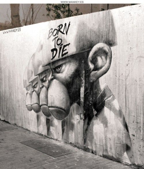 Some people call it vandalism; the rest of the world unstoppable Urban Art