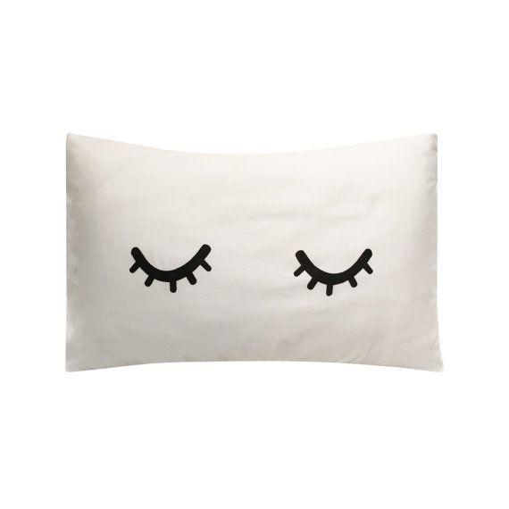 Sleepyhead Screenprinted Pillowcase   Tencel by LazySundayHome