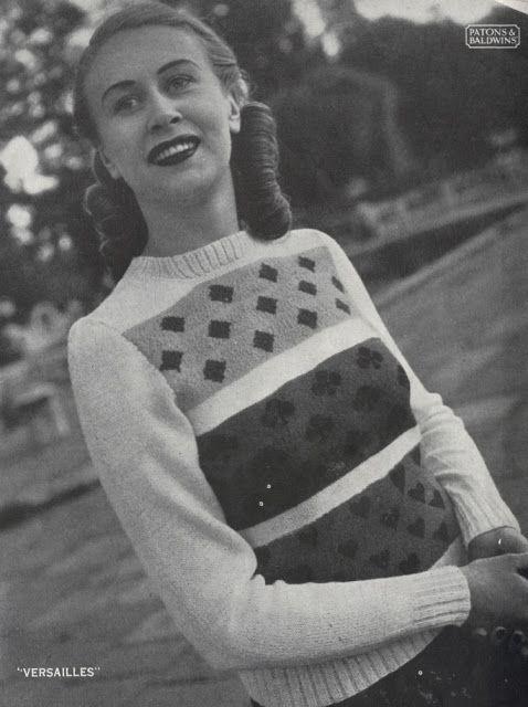 154 best KNITWEAR: Vintage Knits images on Pinterest | Knitting ...