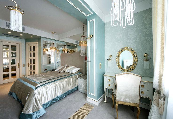 Фото интерьера будуара квартиры в стиле классика