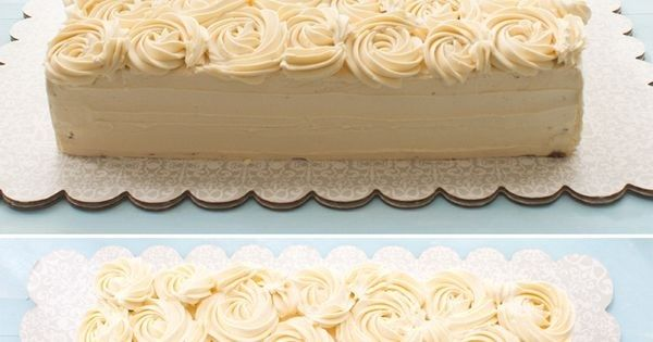 Thankyou, Buttercream Roses #cake #rose #sheet cakes