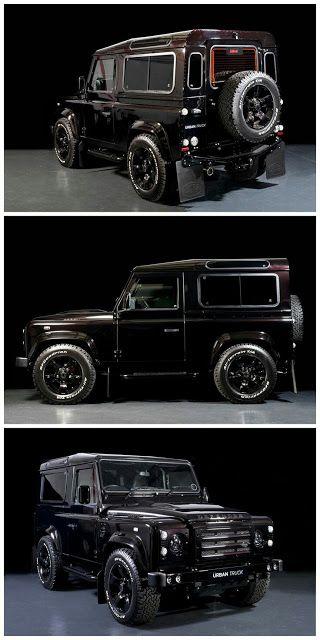 Land Rover Defender 90 para todo tipo de terreno