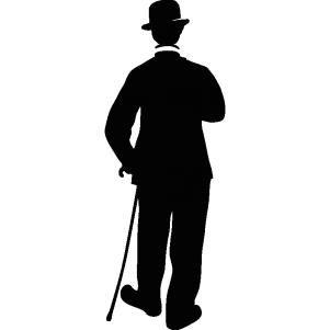 Silhouette de Charlie Chaplin | Pearltrees