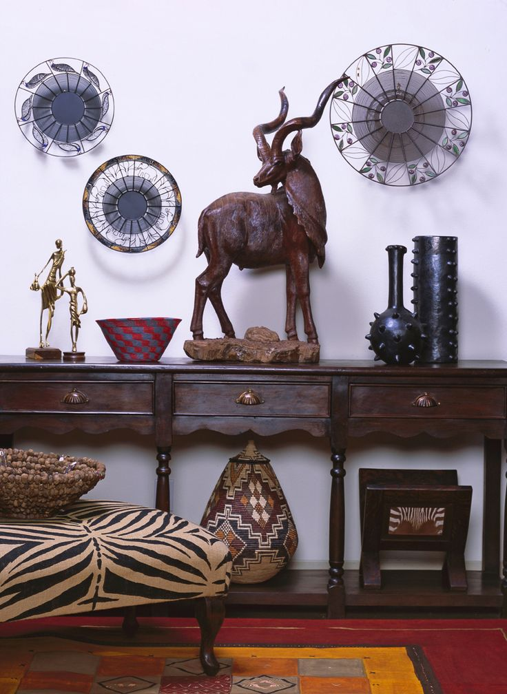 African Home Decor for Contemporary Home