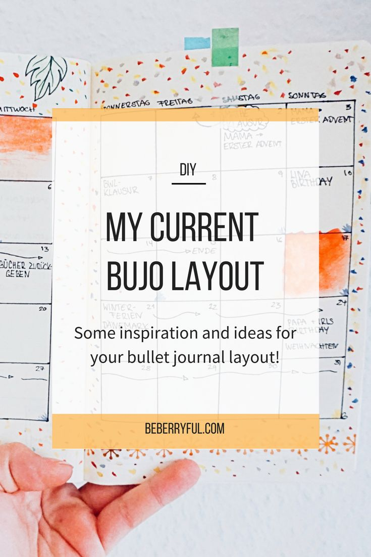 This is my current layout for my bujo. #bulletjournal #inspiration